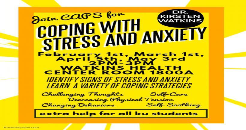 Coping with Stress and Anxiety Workshop
